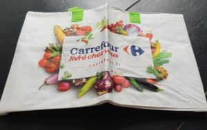 photo sac Carrefour livraison à domicile
